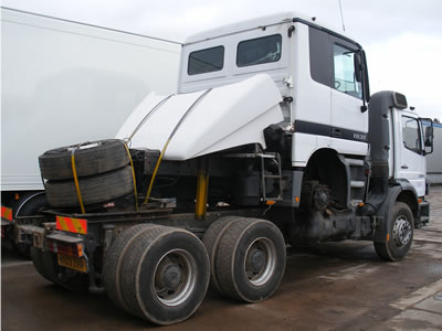 Exporting trucks and trailers from Rothdean UK