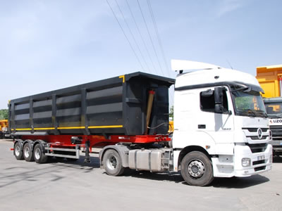 Accordion Style Tipper Trailers from Rothdean