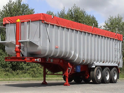 Aluminium U Shaped Tipping Trailers from Rothdean