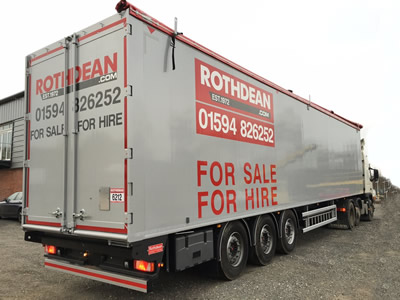 Moving Floor Trailers from Rothdean