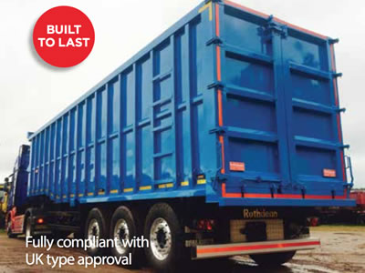Steel Tipping Trailers from Rothdean