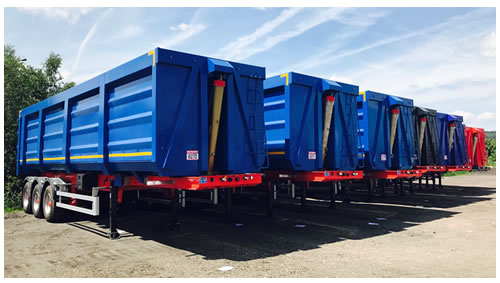 New trailers at Rothdean