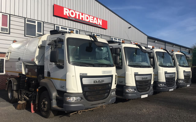 Sweepers from Rothdean UK