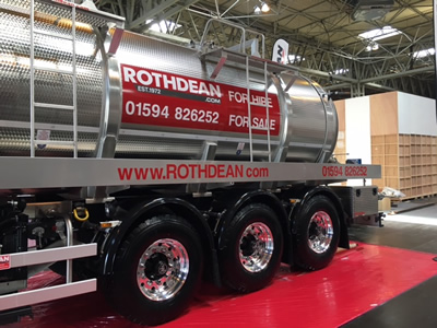 Vacuum Tanker Trailers from Rothdean