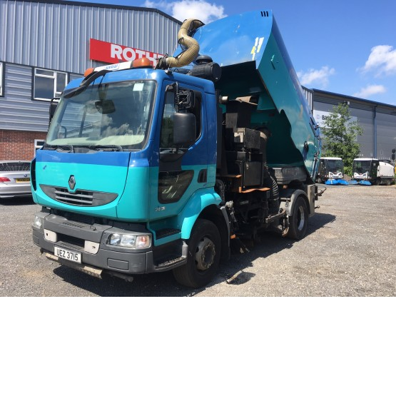 2008 RENAULT MIDLUM 240 in Truck Mounted Sweepers