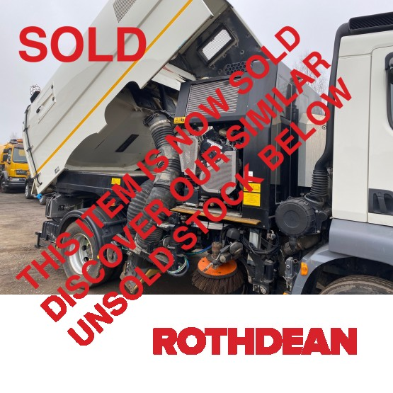 2014 DAF LF55-220 EURO 6 in Truck Mounted Sweepers