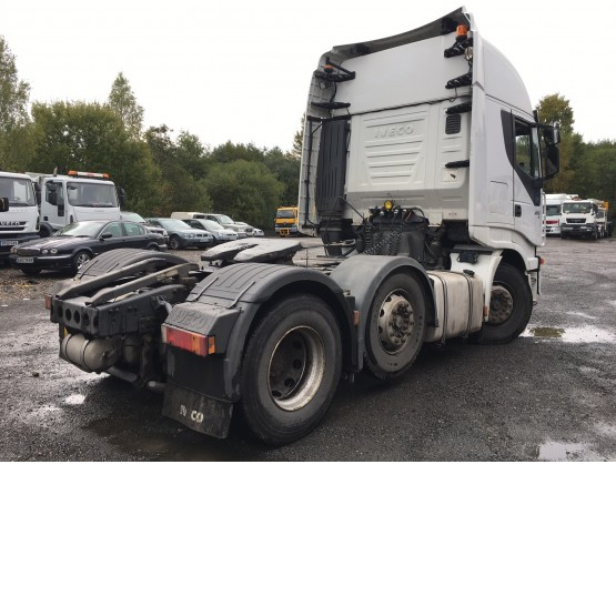 2008 IVECO STRALIS AS440545TX/P in 6x2 Tractor Units