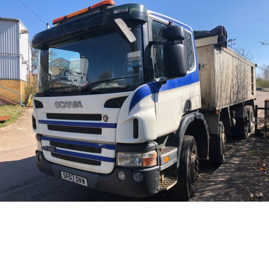 2007 SCANIA P380 in Tippers Rigid Vehicles