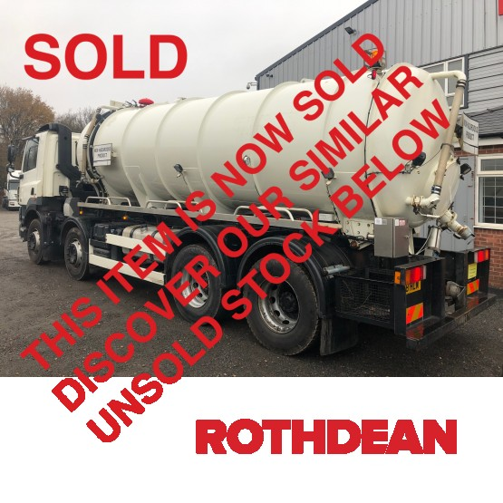 2008 DAF CF85-410 EURO 5 in Tank Rigid Vehicles