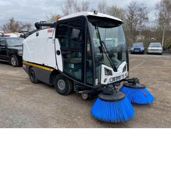 2016 JOHNSTON C201 in Compact Sweepers
