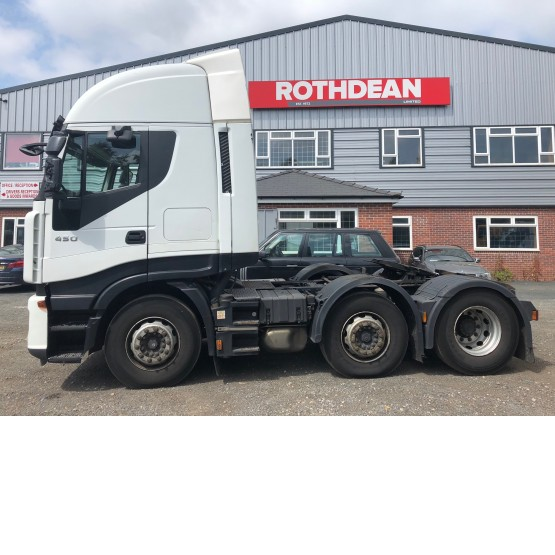 2012 IVECO STRALIS 450EEV in 6x2 Tractor Units
