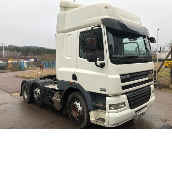 2012 DAF CF85-460 in 6x2 Tractor Units