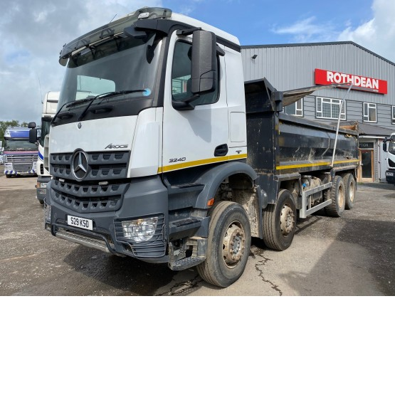 2016 MERCEDES AROCS 3240 BLUETEC 6 in Tippers Rigid Vehicles