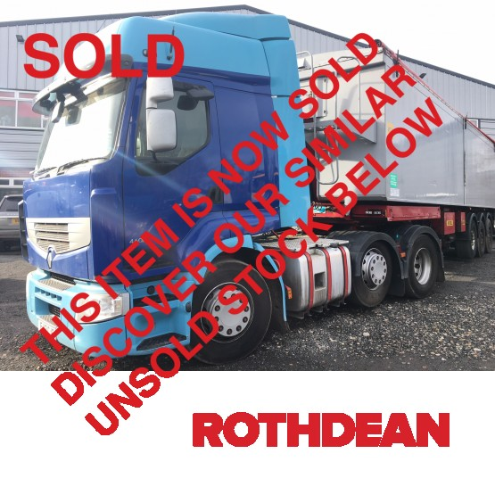 2013 RENAULT PREMIUM ROUTE 460DXI EEV in 6x2 Tractor Units