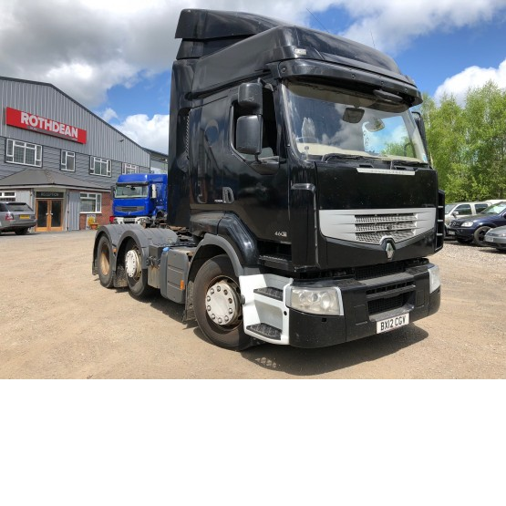 2012 RENAULT PREMIUM 460 DXI EXCELLENCE in 6x2 Tractor Units