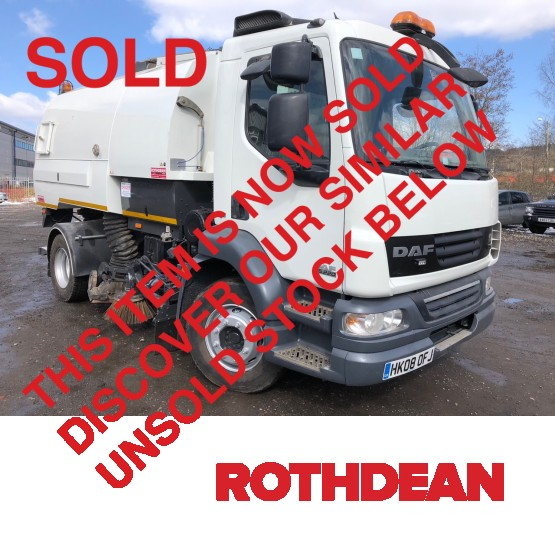 2008 DAF LF55-220 EURO 5 in Truck Mounted Sweepers