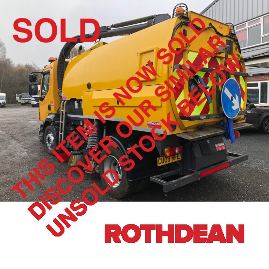 2009 VOLVO FL 240 in Truck Mounted Sweepers