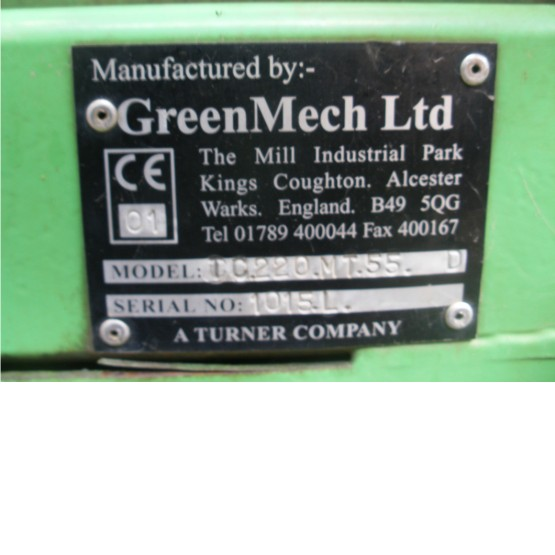 2001 GREENMECH CHIPMASTER TC220 MT 55D in Other
