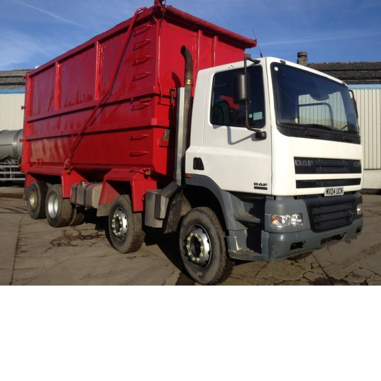 2004 DAF CF85-340 in Tippers Rigid Vehicles