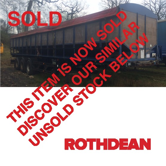 1996 SDC FIXED SKEL C/W POTATO BULKER in Skeletal Trailers Trailers