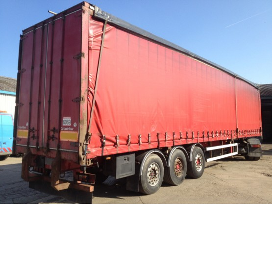 2002 SDC STRAIGHT in Curtain Siders Trailers