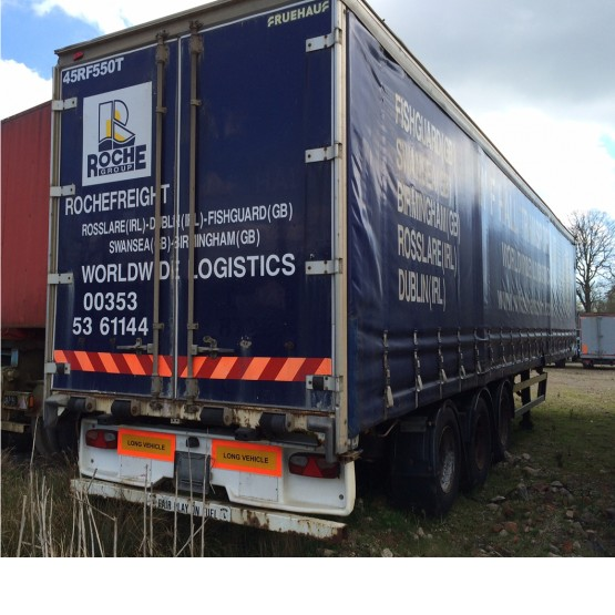 2004 Crane Freuhauf STRAIGHT FRAME in Curtain Siders Trailers
