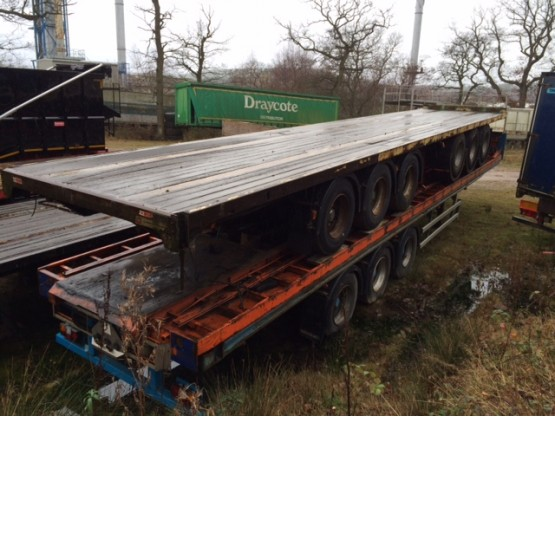 2000 Montracon FLAT in Flat Trailers Trailers