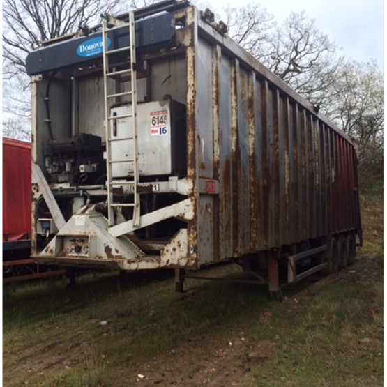 2008 EUROEJECTOR EJECTOR in Ejector & Moving Floor Trailers
