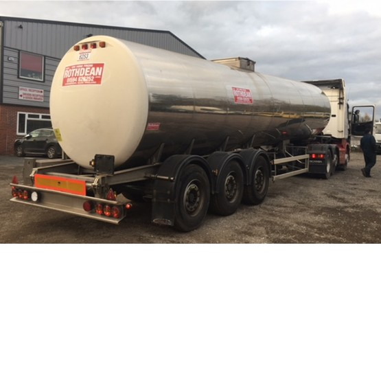 2004 MAGYAR MILK COLLECTION TANK in Food & Chemical Tankers Trailers