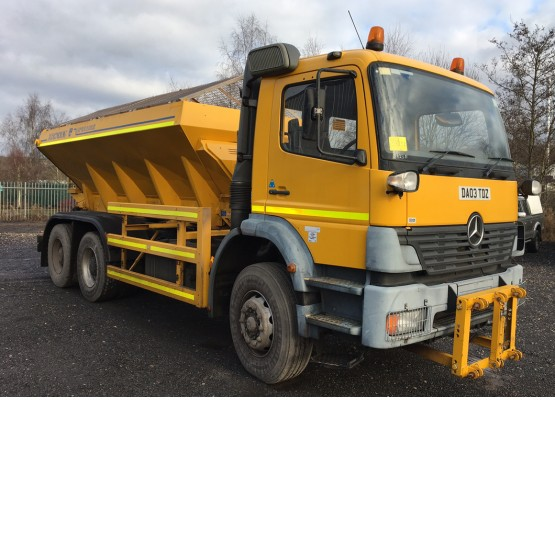 2003 MERCEDES 2628 in Gritters