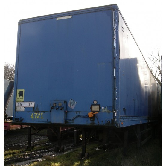 1988 Carrymaster TANDOM BOX in Box Trailers Trailers