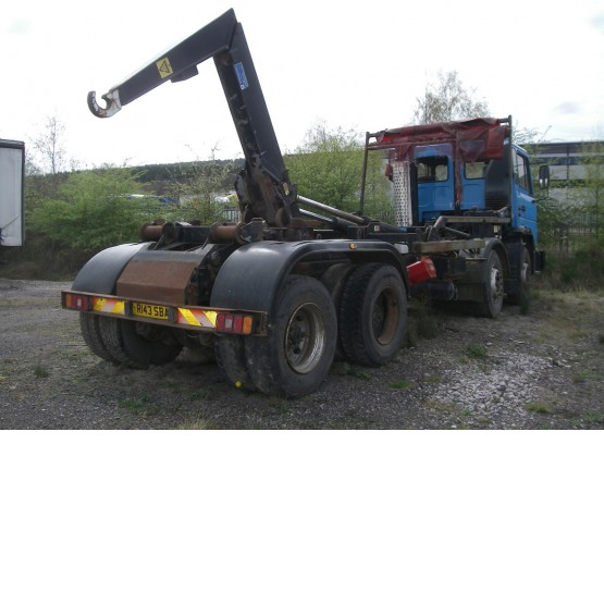 1997 FODEN 3340 in Hook Loaders and Skip Loaders