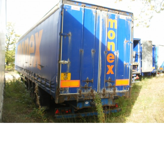 2001 SDC STRAIGHT in Curtain Siders Trailers