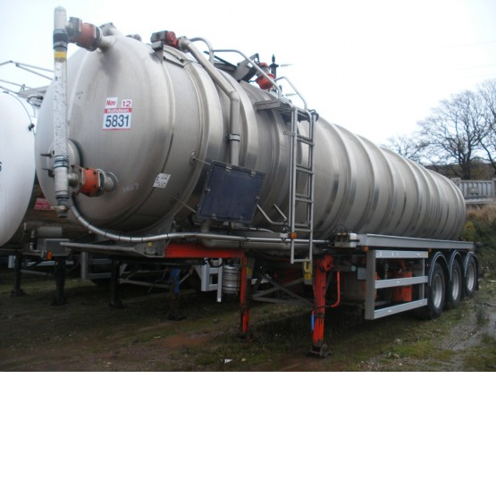 2003 Maisonnneuve WASTE in Vacuum Tankers Trailers