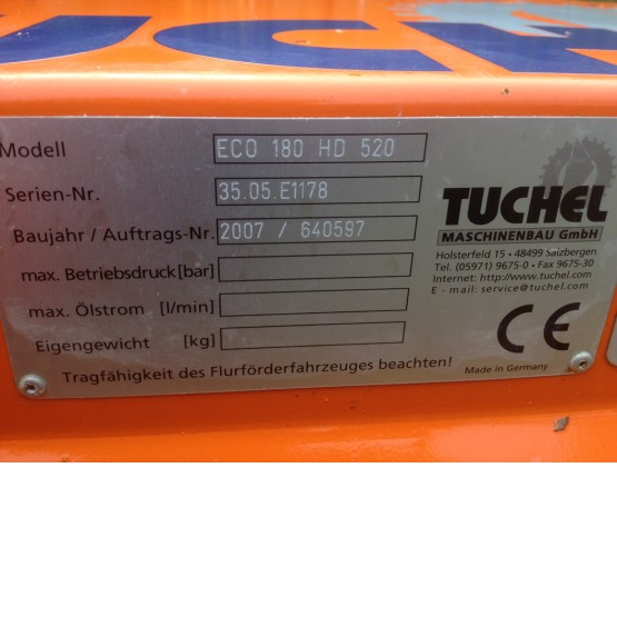 2007 TUCHEL ECO180 HD 520 in Other