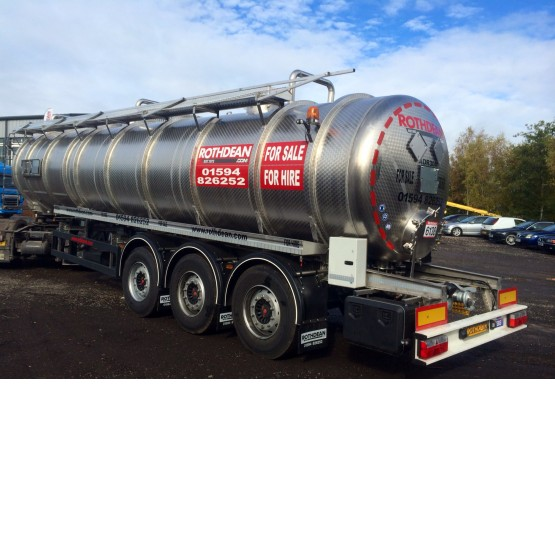 2015 Rothdean ADR 304 VAC SS CHASSIS in Vacuum Tankers Trailers