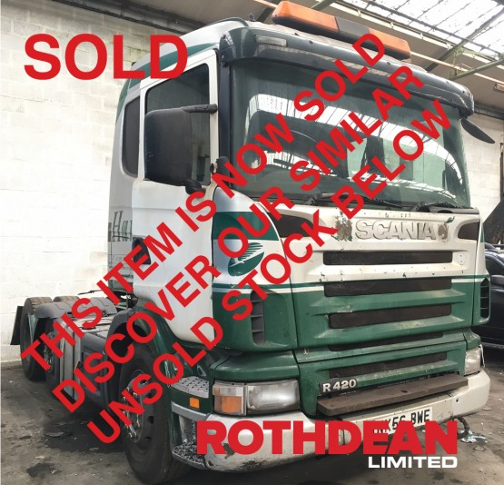 2006 SCANIA R420 in 6x2 Tractor Units