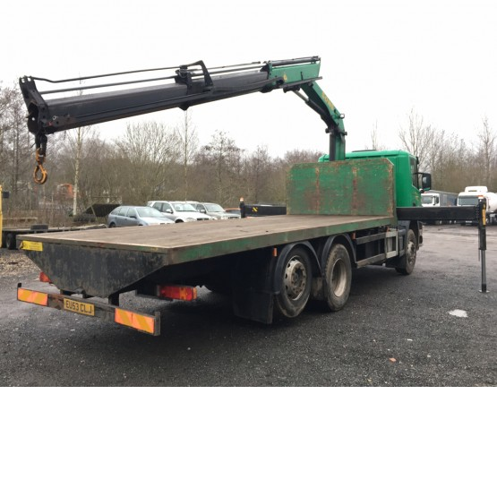 2003 SCANIA P94-260 in Flatbed/Beavertail Rigid Vehicles