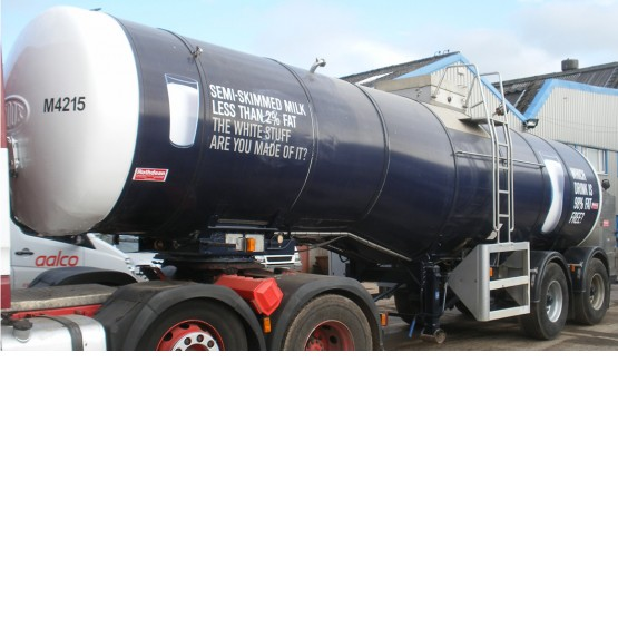 1996 ROS ROCA MILK STEP in Food & Chemical Tankers Trailers