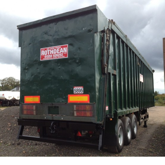 2004 EUROEJECTOR EJECTOR in Ejector & Moving Floor Trailers