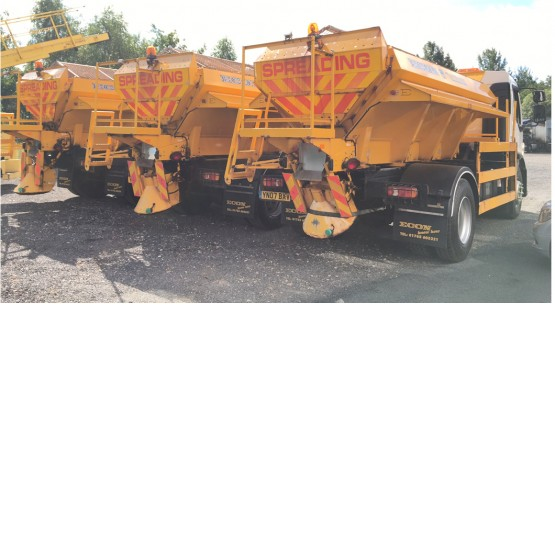 2007 ECON GRITTER BODY in Gritters
