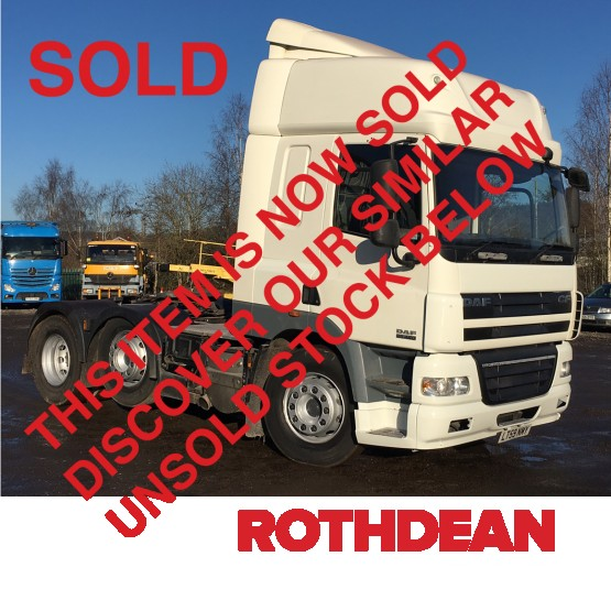 2009 DAF CF85-460 in 6x2 Tractor Units