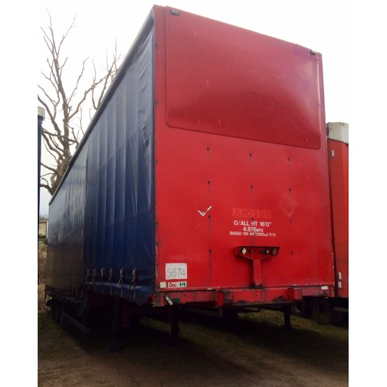 2003 CORUS DOUBLE DECK in Curtain Siders Trailers