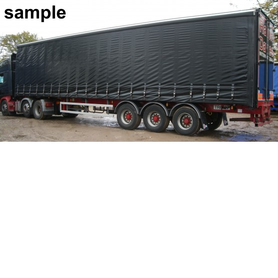 2002 SDC DOUBLE DECK in Curtain Siders Trailers