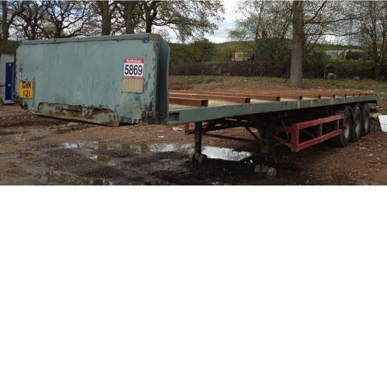 1988 M&G STRAIGHT FRAME in Flat Trailers Trailers