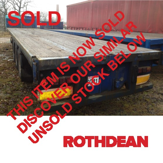 1996 Montracon  in Flat Trailers Trailers