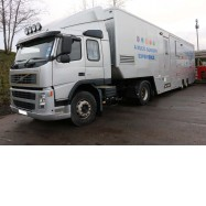 2004 VOLVO FM300 C/W EXHIBITION TRAILER