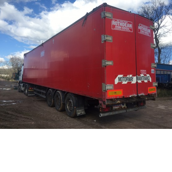 2003 SCHMITZ MOVING FLOOR in Ejector & Moving Floor Trailers