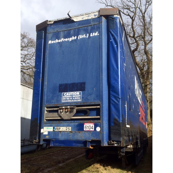 2004 WILSON STEPFRAME in Curtain Siders Trailers