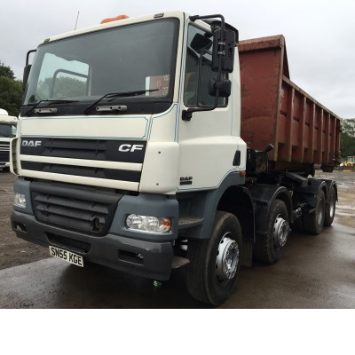 2006 DAF CF85-340 HOOK LOADER